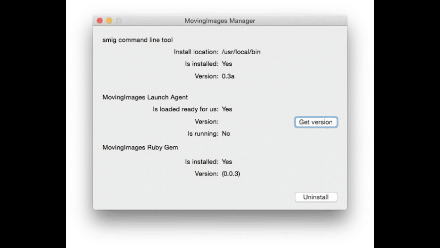 MovingImages for Mac - review, screenshots