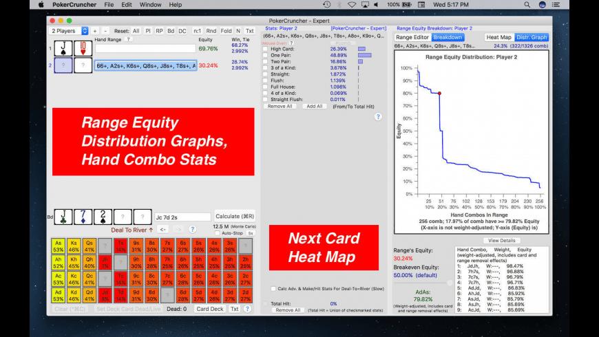 PokerCruncher for Mac - review, screenshots