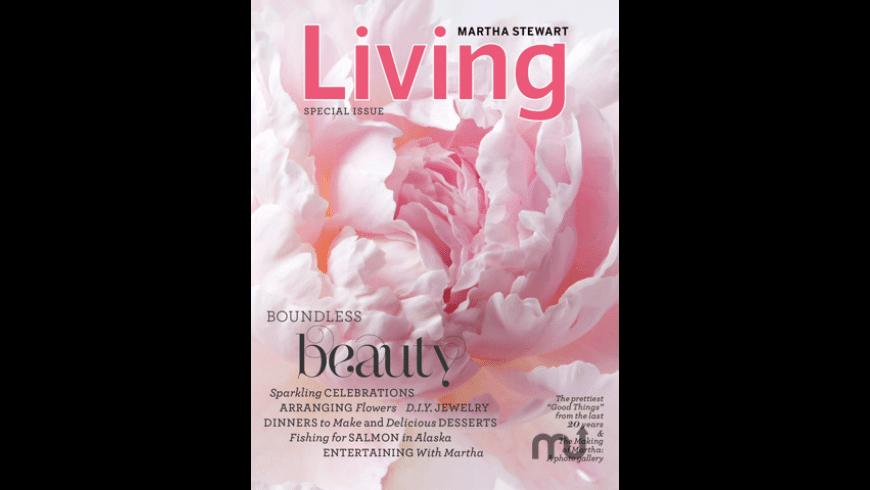 Martha Stewart Living Magazine for iPad for Mac - review, screenshots