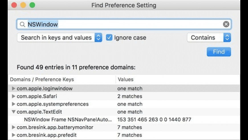 PrefEdit for Mac - review, screenshots