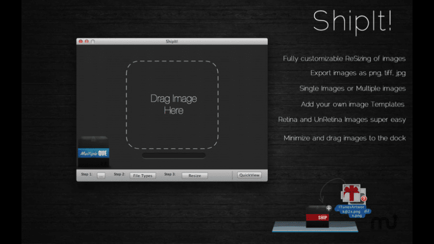 ShipIt! for Mac - review, screenshots