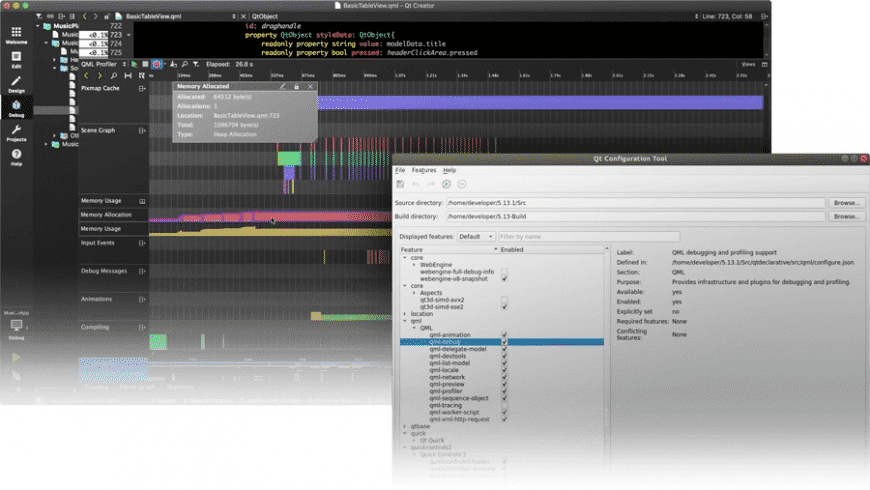 Qt Creator for Mac - review, screenshots