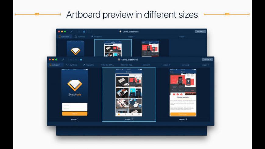 Sketchode for Mac - review, screenshots