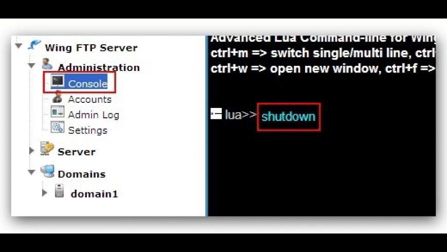 Wing FTP Server for Mac - review, screenshots