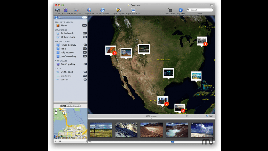 Geophoto for Mac - review, screenshots