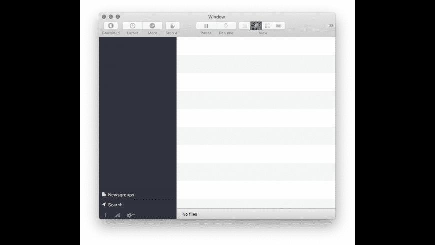 NZB Drop for Mac - review, screenshots