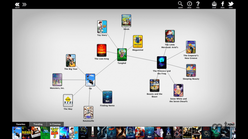 Discovr Movies for Mac - review, screenshots