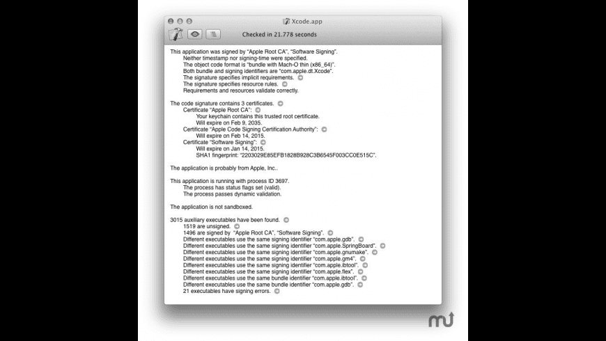 RB App Checker Lite for Mac - review, screenshots