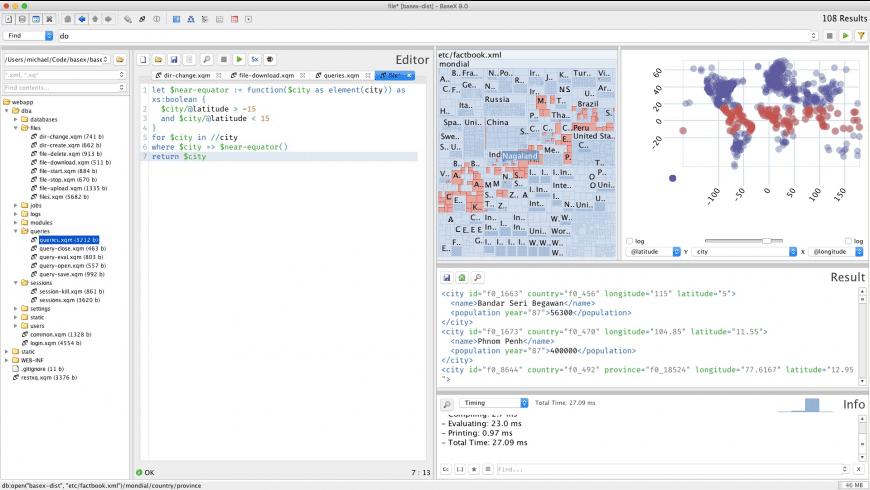 BaseX for Mac - review, screenshots