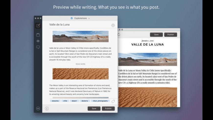 Blogo for Mac - review, screenshots