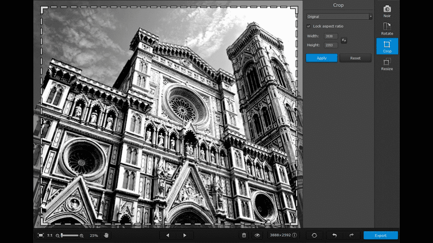 Movavi Photo Noir for Mac - review, screenshots