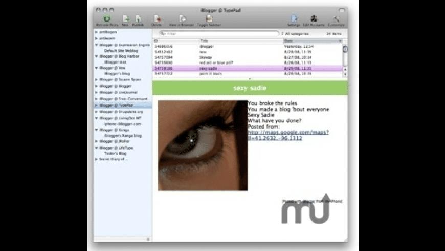 ecto for Mac - review, screenshots