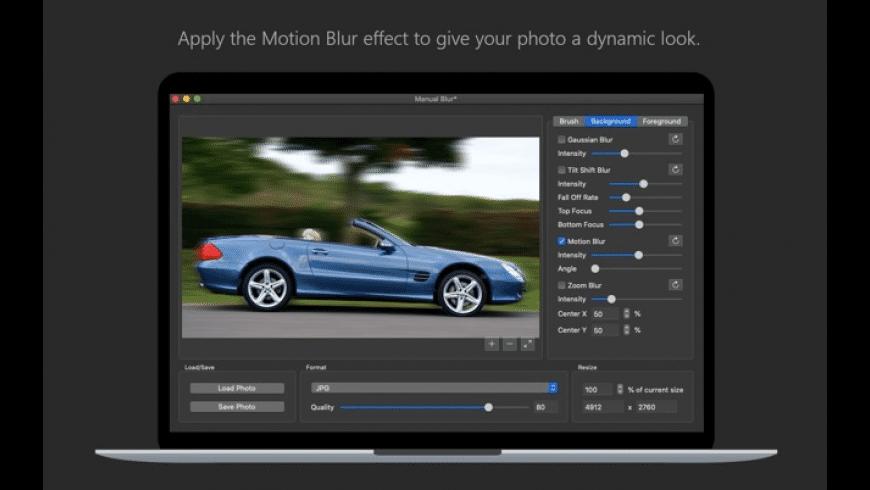 Photo Blur FX for Mac - review, screenshots