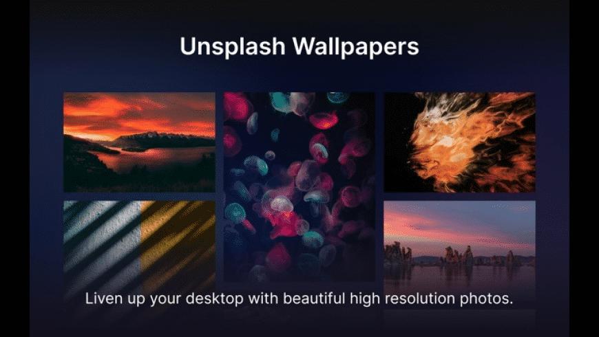 Unsplash Wallpapers for Mac - review, screenshots