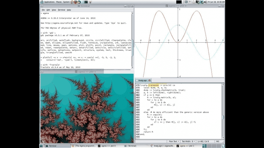 Agena for Mac - review, screenshots