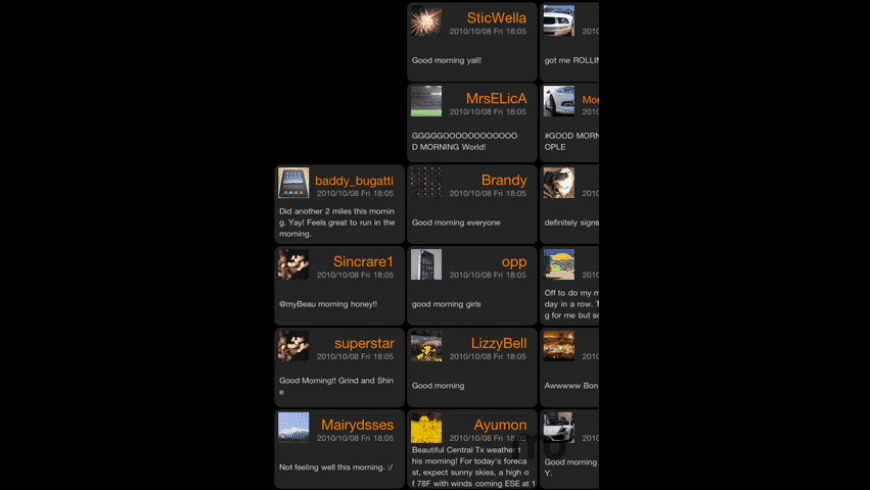 TweetBoard for Mac - review, screenshots