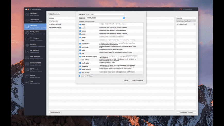 goPanel for Mac - review, screenshots