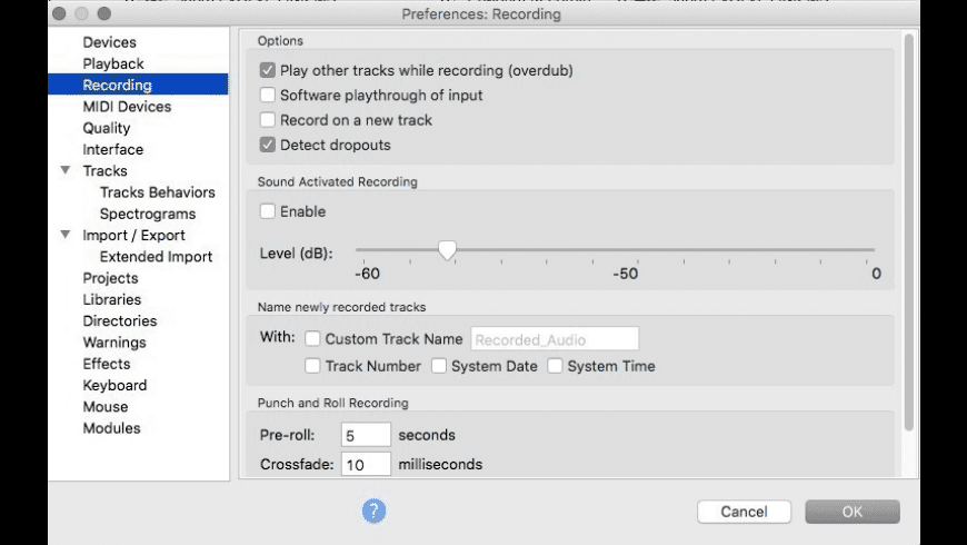 Audacity for Mac - review, screenshots