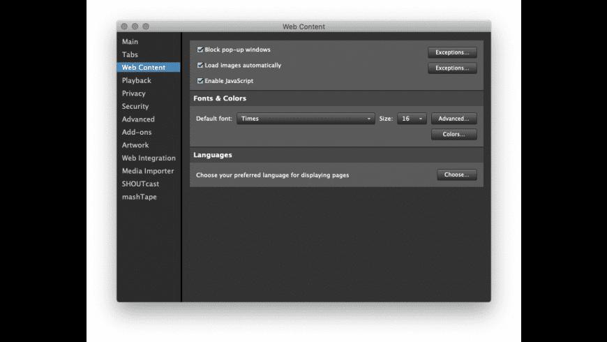 Nightingale for Mac - review, screenshots