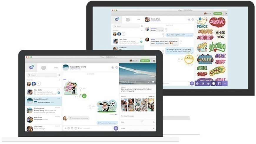 Viber for Mac - review, screenshots