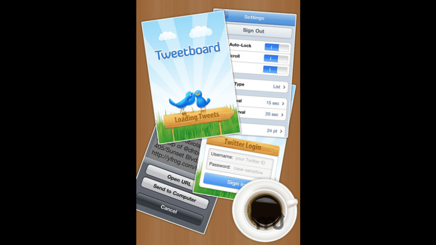 Tweetboard - Real Time Twitter Monitor for Mac - review, screenshots