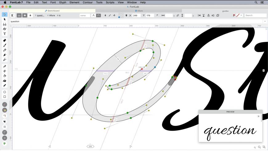 FontLab for Mac - review, screenshots