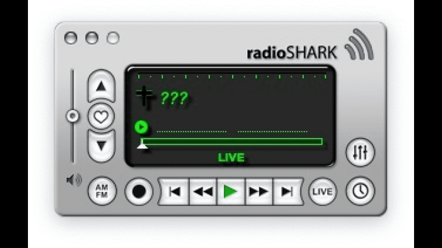 radioSHARK for Mac - review, screenshots