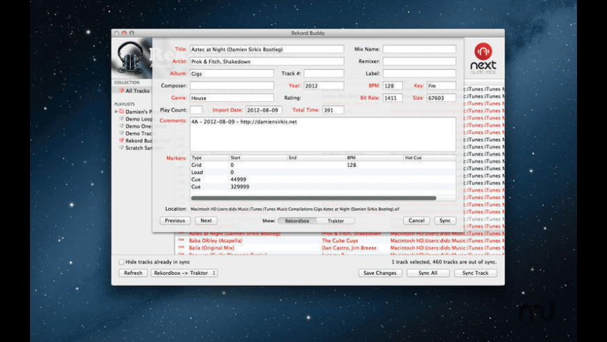 Rekord Buddy for Mac - review, screenshots