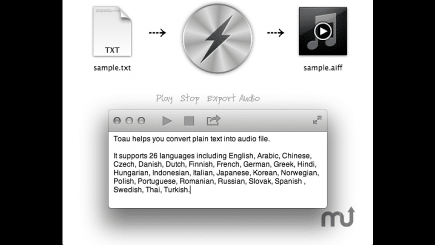 Toau for Mac - review, screenshots