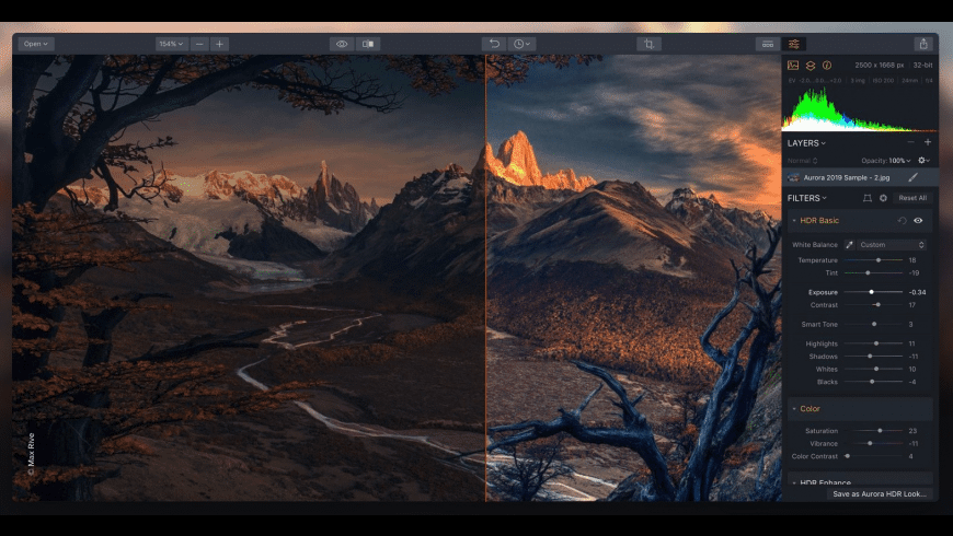 Aurora HDR 2018 for Mac - review, screenshots