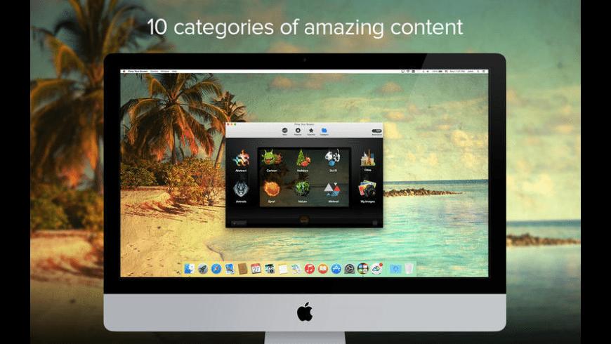 Pimp Your Screen Mac 破解版 高品质壁纸和背景图片