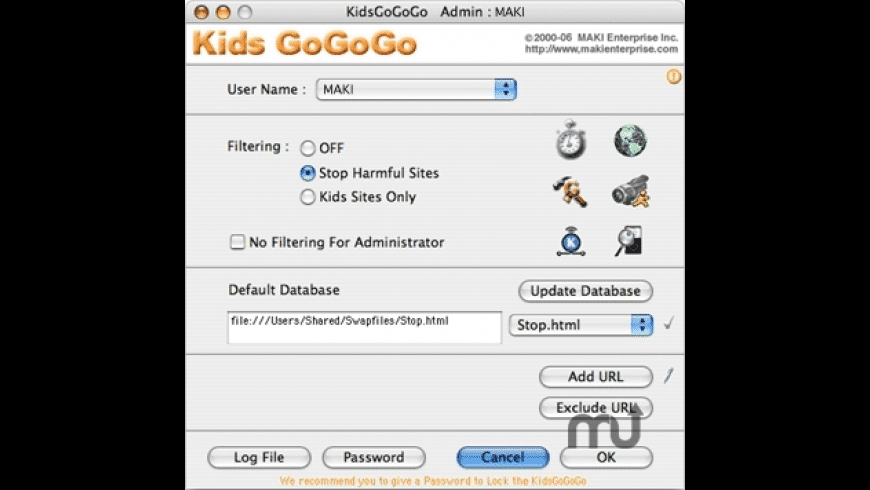 Kids GoGoGo X for Mac - review, screenshots