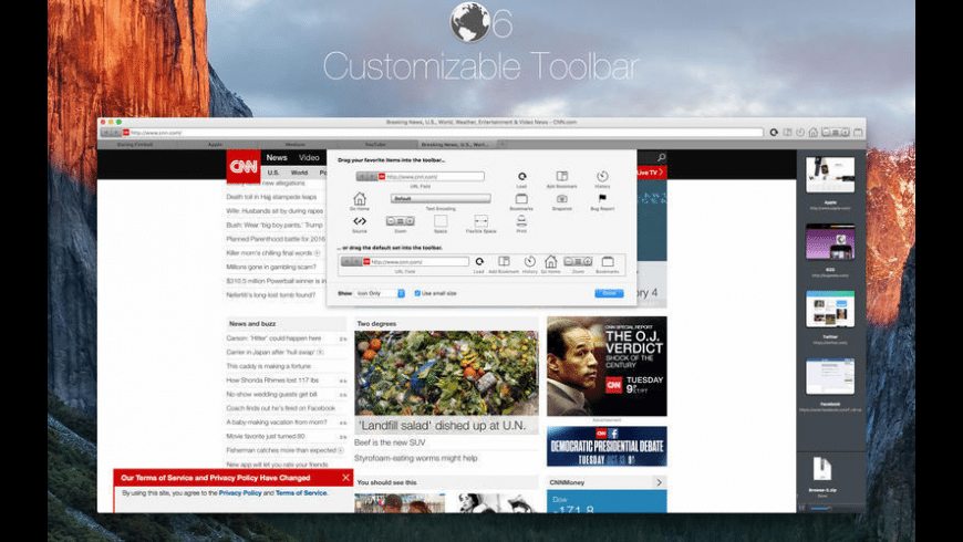 Browse for Mac - review, screenshots