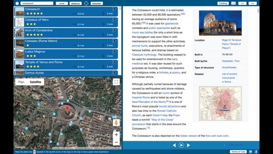 World Explorer for Mac - review, screenshots