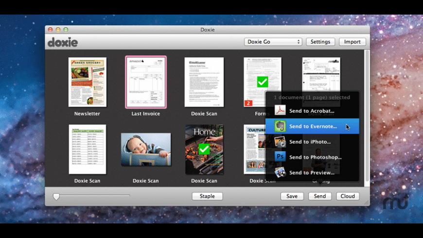 Doxie for Mac - review, screenshots