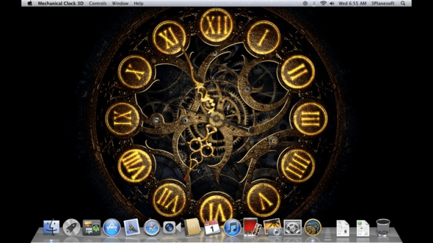 Mechanical Clock 3D for Mac - review, screenshots