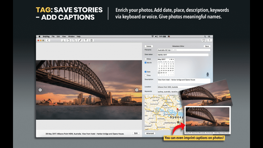 SnipTag for Mac - review, screenshots