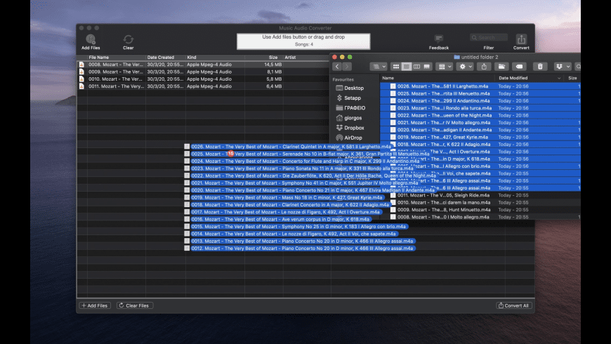 Music Audio Converter for Mac - review, screenshots