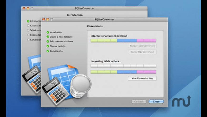 SQLiteConverter for Mac - review, screenshots
