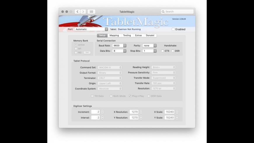 TabletMagic for Mac - review, screenshots