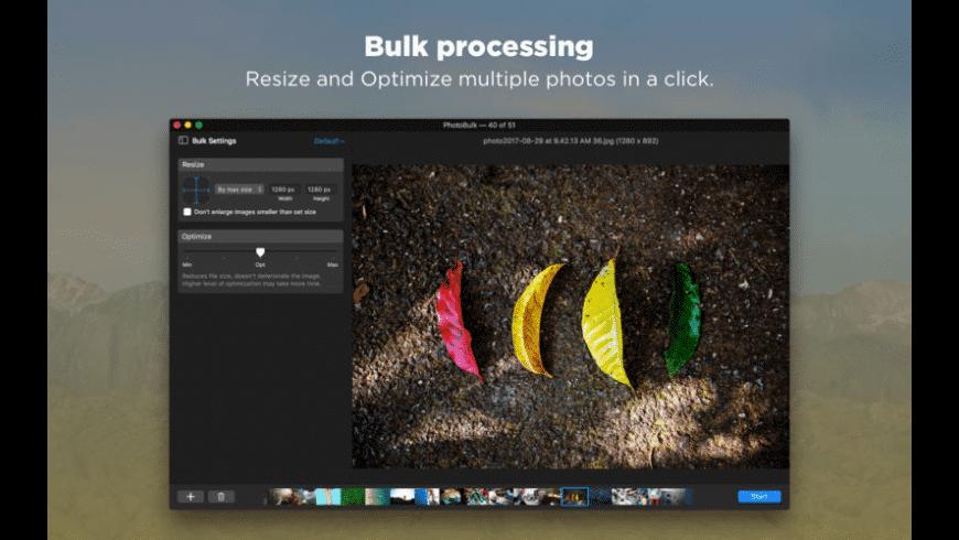 PhotoBulk for Mac - review, screenshots