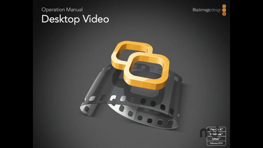 Desktop Video for Mac - review, screenshots