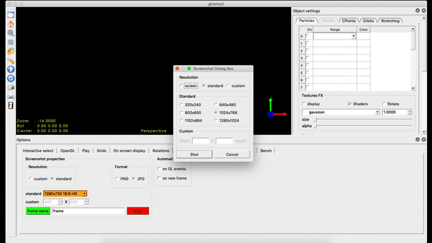 Glnemo2 for Mac - review, screenshots