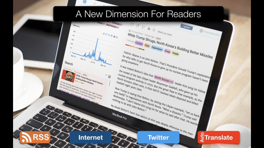 Gentle Reader for Mac - review, screenshots