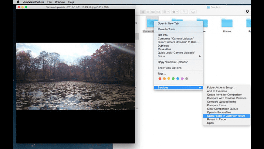 JustViewPicture for Mac - review, screenshots
