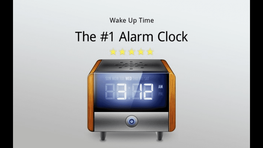Wake Up Time for Mac - review, screenshots