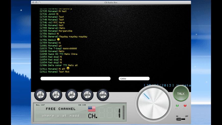 CB Radio Box for Mac - review, screenshots