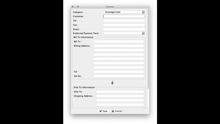 EasyBilling for Mac - review, screenshots