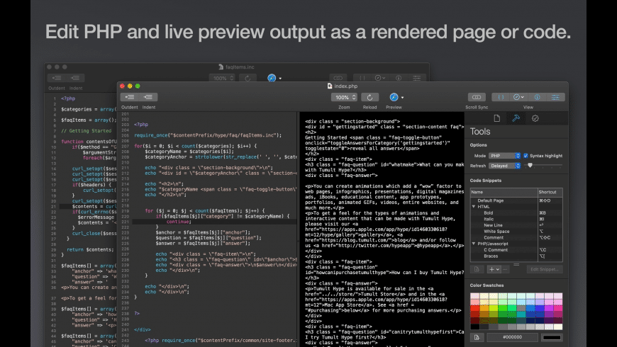 Tumult Whisk for Mac - review, screenshots