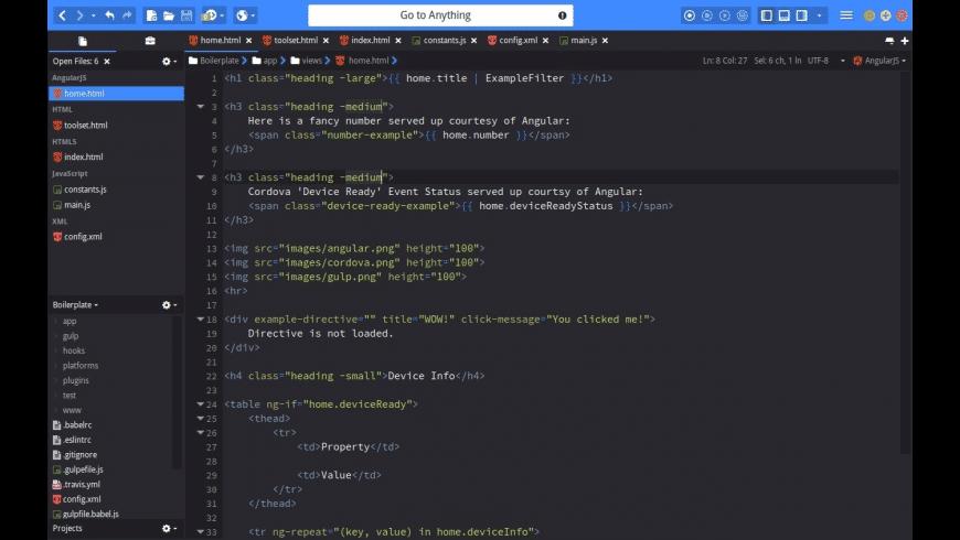 Komodo Edit for Mac - review, screenshots
